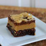 Peanut Butter Cookie Dough Brownies #recipe