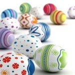 Easter Kid's Craft – Painted Eggs