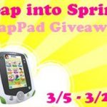 Leap Pad Giveaway