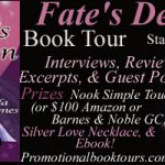 Fate's Design Book Tour – Simple Touch Nook or Amazon Giftcard