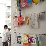 How to Organize Children's Art-School Work