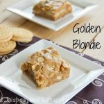 Golden Oreo Blondie Bars