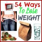 54 Ways To Lose Weight