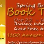 Spring Break Book Tour and Contest $100 Amazon GC