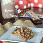 Heath Toffee Bars Recipe