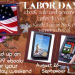 Labor Day Kindle/ Nook Giveaway and Book Sale