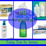 Taking Time for Mommy's Freebie List!