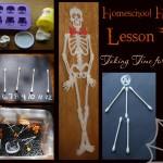 Halloween Homeschool lesson plans- Skeleton Hiccups Lesson Plans