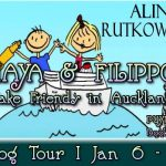 MAYA & FILIPPO MAKE FRIENDS IN AUCKLAND Book Tour