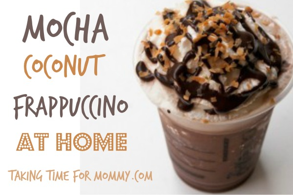 how to make a chocolate frappuccino at home
