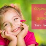 Keeping kids busy during summer break