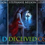 NEW  COVERS  FOR  GWEN  SPARKS SERIES by Stephanie Nelson