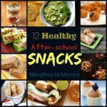 12 Healthy After-School Snacks @foodie @foodiebyglam