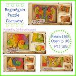 BeginAgain Puzzle Giveaway $100 Value