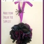 Halloween Pomander Ball (Dollar Store Craft)