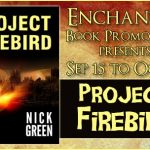 Book Tour YA science-fiction Project Firebird by Nick Green Author Interview