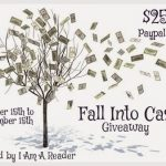 $250 Fall Into Cash Giveaway!