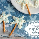 Frozen Inspired Chocolate Wands Recipe
