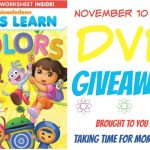 Nickelodeon Let's Learn Colors DVD Giveaway