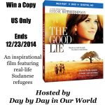 The Good Lie Coming to BluRay Combo Pack on December 23rd #Giveaway