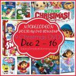 NICKELODEON HOLIDAY DVD ROUNDUP 8 DVD NickJr Giveaway