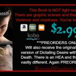 Dictating Death by Bonnie R. Paulson Pre-Order