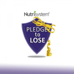 #PledgeToLose weight and live healthier this year for your chance to win 3 MONTHS OF NUTRISYSTEM!