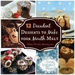 All About Chocolate – 12 Decadent Desserts to Make your Mouth Melt @foodie @foodiebyglam