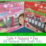 Kiss Naturals All Natural DIY Craft Kits Review and Giveaway