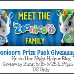 Zoonicorn Prize Pack Giveaway (ends 5/25)