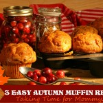 Three Easy Autumn Muffin Recipes