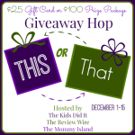 This OR That Giveaway Hop
