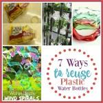 7 Ways to Reuse Plastic Water Bottles