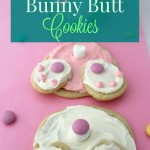 Adorable Bunny Butt Cookies