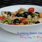 Suddenly Beach Salad #SuddenlySaladSummer #Giveaway