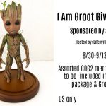 I Am Groot Guardians of the Galaxy 2 Giveaway