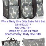 Thirty One Gifts Baby Print set 9/8-9/22 11:59 pm EST
