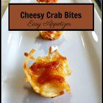 Cheesy Crab Bites Appetizer