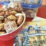 Perfect Holiday Party Snack: Chocolate Peanut Butter Cheerios™ Chex™ Party Mix Recipe