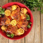 Cilantro Lemon Boneless Chicken Thighs