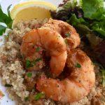 Easy Lemon-Garlic Jumbo Shrimp