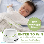 TWO Lucky Winners Will Receive a AuCuTee Fan White Noise Machine