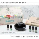 Danau Dua Nebulizing Diffuser & Nature's Aid Box Set of Essential Oils (APV $100) Giveaway