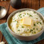 Keto – Garlic and Chive Cauliflower Mash