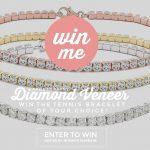 Diamond Veneer Tennis Bracelet (Winner's Choice Color)