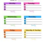 How to Make a Meal Plan and Actually Stick to It with Free Meal Planning Printable